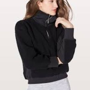 NWT LULULEMON STAND OUT HALF ZIP SHERPA!!